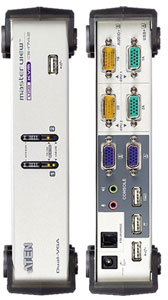 Dual and Quad Video KVM Switches